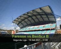 Prognóstico Farense Benfica B (19 Setembro 2021)