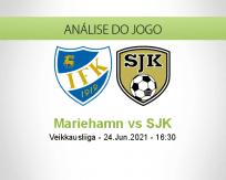 Prognóstico Mariehamn SJK (24 Junho 2021)