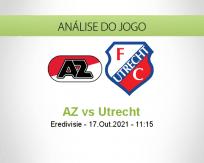 Prognóstico AZ Utrecht (17 Outubro 2021)