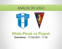 Prognóstico Wisła Plock Pogoń (17 Outubro 2021)