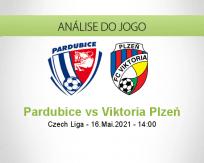 Prognóstico Pardubice Viktoria Plzeň (16 Maio 2021)