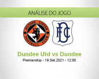 Prognóstico Dundee Utd Dundee (19 Setembro 2021)