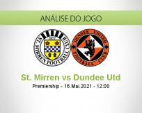 Prognóstico St. Mirren Dundee Utd (16 Maio 2021)