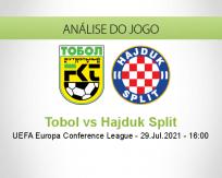 Prognóstico Tobol Hajduk Split (29 Julho 2021)
