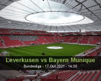 Leverkusen vs Bayern Munique