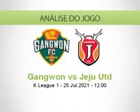 Prognóstico Gangwon Jeju Utd (25 Julho 2021)