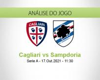 Prognóstico Cagliari Sampdoria (17 Outubro 2021)