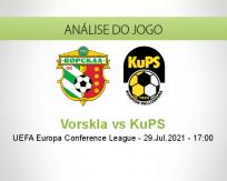 Prognóstico Vorskla KuPS (29 Julho 2021)