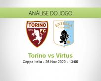 Prognóstico Torino Virtus (26 Novembro 2020)