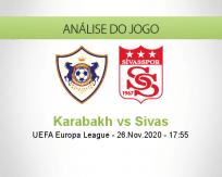 Prognóstico Karabakh Sivas (26 Novembro 2020)