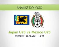 Prognóstico Japan U23 Mexico U23 (25 Julho 2021)