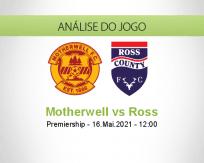 Prognóstico Motherwell Ross (16 Maio 2021)