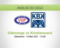 Prognóstico Vålerenga Kristiansund (16 Maio 2021)