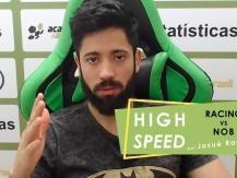 RACING VS NOB - previsão em minutos (vídeo)