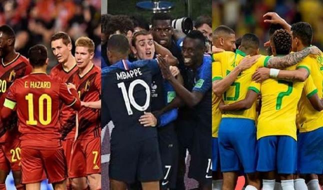 Ranking FIFA: Bélgica continua na liderança