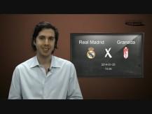 Real Madrid vs Granada - 25.Jan.2014 15h00 - Crónica os melhores jogos