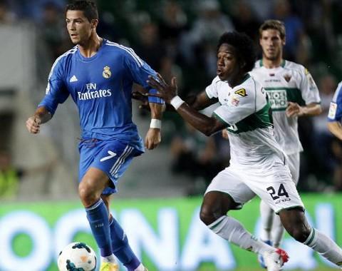 Análise do jogo: Real Madrid vs Elche (23 Setembro 2014)
