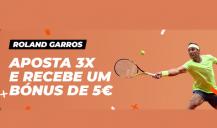 Ganha ao apostar no Roland Garros