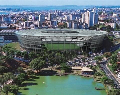Arena Fonte Nova, Salvador - Estádios do Mundial Brasil 2014