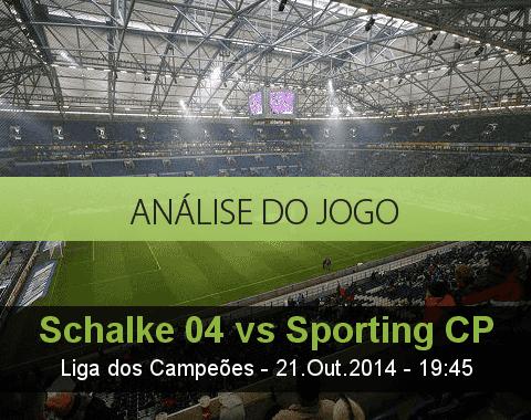 Análise do jogo: Schalke 04 vs Sporting (21 Outubro 2014)