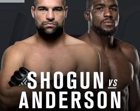 Preview: Maurício Shogun vs Corey Anderson (UFC - 14th May, 2016)