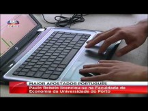 SIC - Livro do Paulo Rebelo em reportagem no Jornal da Noite