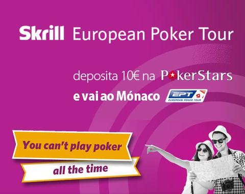 Queres ganhar uma entrada VIP no EPT Monte Carlo?