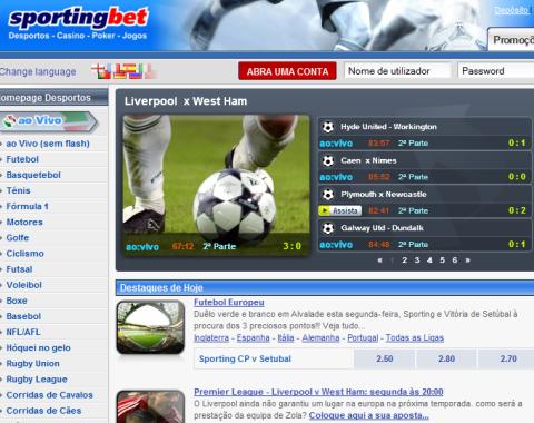 Aposta grátis de 20€ às Quartas na Sportingbet