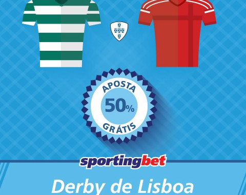 Sporting e Benfica marcam e tu ganhas 50% com os golos