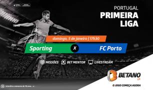 Sporting vs FC Porto: Alvalade como palco negro para Dragões
