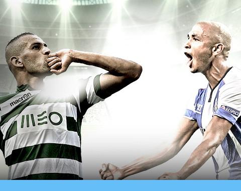 Sporting e Porto marcam e tu ganhas um bónus até 100%