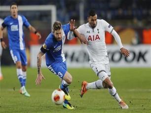Liga Europa: Tottenham atrás do prejuízo
