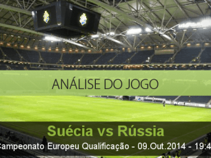 Análise do jogo: Suécia vs Rússia (9 Outubro 2014)