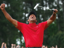 Winning bet of $ 85,000 on Tiger Woods in the 2019 Masters