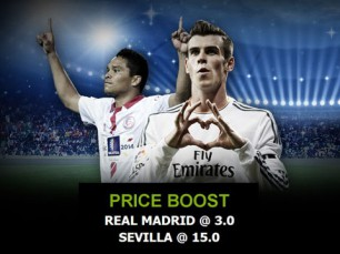 Real Madrid vs Sevilha: o maior prémio que vais encontrar ao apostar em qualquer uma destas equipas