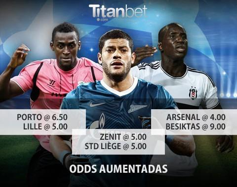 Lille vs Porto: o maior prémio que vais encontrar ao apostar nestas equipas