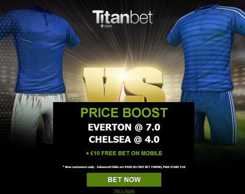 Everton vs Chelsea: o maior prémio que vais encontrar ao apostar nestas equipas