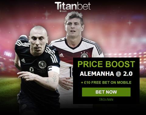 Alemanha vs Escócia: o maior prémio que vais encontrar ao apostar nestas equipas