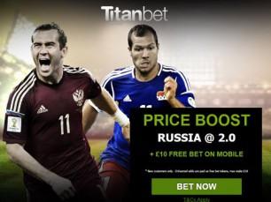 Rússia vs Liechtenstein: com prémio extra na vitória da Rússia