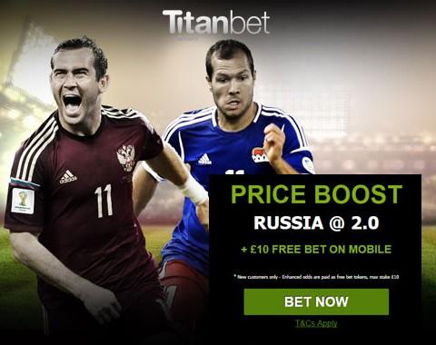 Rússia vs Liechtenstein: dobra o teu saldo em caso de vitória russa