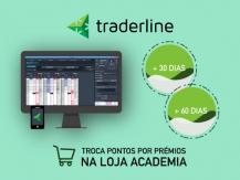 Licença de teste do Traderline na loja Academia até 3 meses