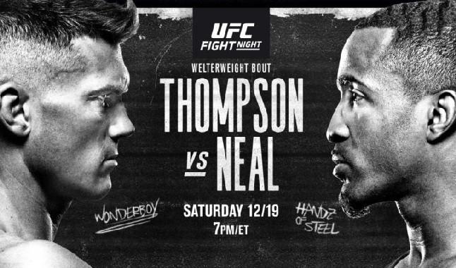 Todo sobre la lucha de UFC entre Stephen Thompson e Geoff Neal
