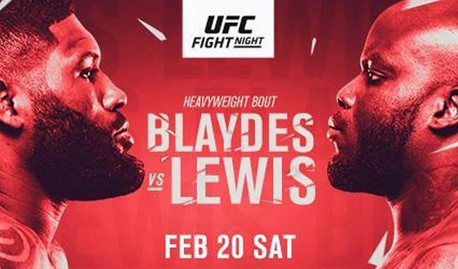 Todo sobre la lucha entre Curtis Blaydes y Derrick Lewis