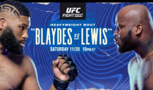 Everything about the fight between Curtis Blaydes and Derrick Lewis