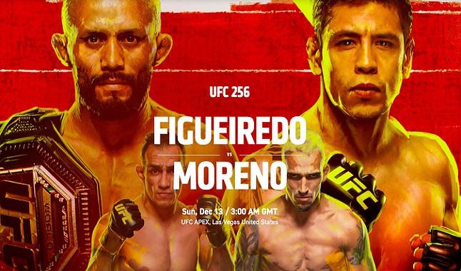 Todo sobre el UFC 256