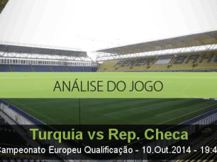 Análise do jogo: Turquia vs República Checa (10 Outubro 2014)