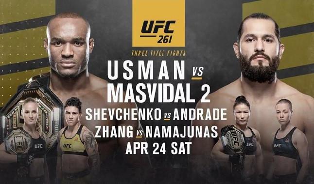 UFC 261: Usman vs Masvidal 2