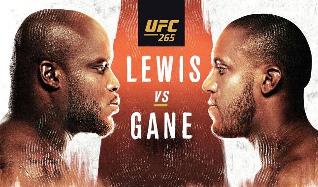 UFC 265: Lewis vs. Ganes