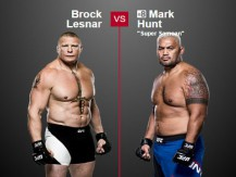 Preview: Brock Lesnar vs Mark Hunt (UFC - 9 July 2016)