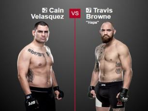 Análise: Caín Velásquez vs Travis Browne (UFC - 9 julho 2016)